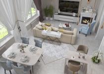 гостиная кухня_20009